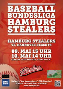 Hamburg Stealers Plakat 2015