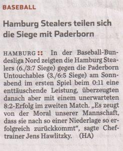 Hamburger Abendblatt, 18.5.2015
