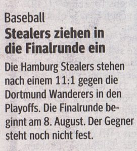 Hamburger Morgenpost, 20.7.2015