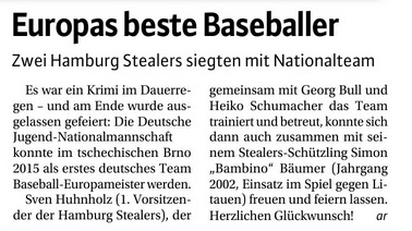 Niendorfer Wochenblatt, 29.7.2015
