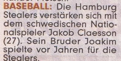 BILD 6.2.2016 Baseball Jakob Claesson 001