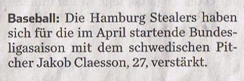Hamburger Abendblatt, 6.2.2016 Jakob Claesson 001