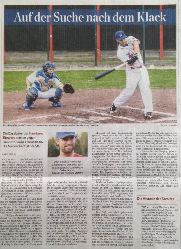 Hamburger Abendblatt, 21.4.2016