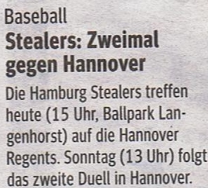 Hamburger MOrgenpost 23.4.2016 Baseball 001