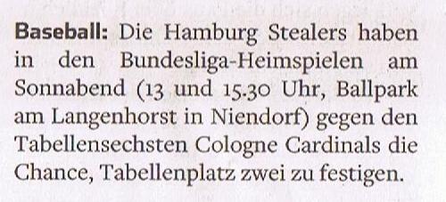 Hamburger Abendblatt, 11.6.2016