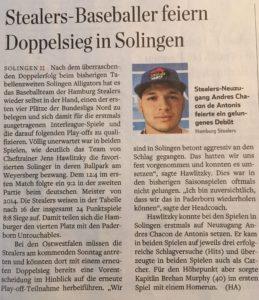 Hamburger Abendblatt, 12.6.2017