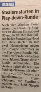 Hamburger Morgenpost, 27.7.2018