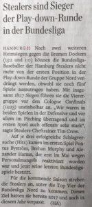 Hamburger Abendblatt, 20.8.2018